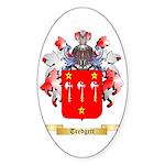 Tredgett Sticker (Oval 50 pk)