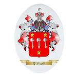 Tredgett Oval Ornament