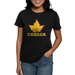Canada Souvenir Varsity Women's Dark T-Shirt