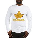Canada Souvenir Varsity Long Sleeve T-Shirt