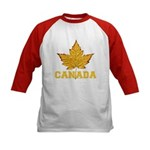 Canada Souvenir Varsity Kids Baseball Jersey