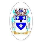 Treanor Sticker (Oval 50 pk)