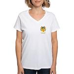 Treacy Women's V-Neck T-Shirt