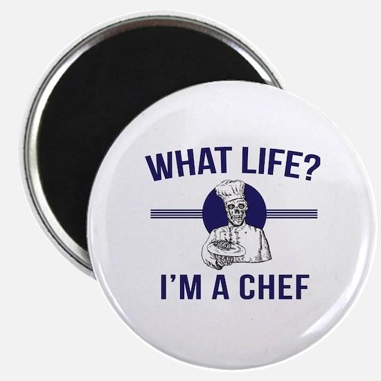 Funny Chef baseball Magnet