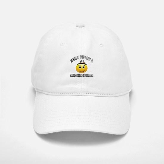 Smile If You Love Cardiac Surgeon Baseball Baseball Cap