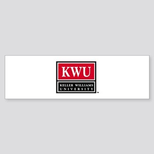 kwu_logo_stack_000 Bumper Sticker