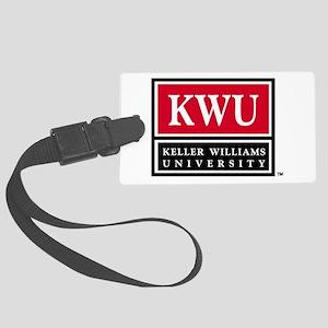 kwu_logo_stack_000 Large Luggage Tag