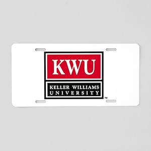 kwu_logo_stack_000 Aluminum License Plate