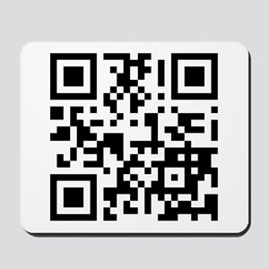 Keep Mobile Devices Away in a QR Code (Black) Mous