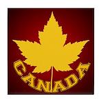 Canada Souvenir Varsity Tile Coaster