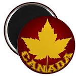 "Canada Souvenir Varsity 2.25"" Magnet (10 pack)"