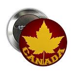 """Canada Souvenir Varsity 2.25"""" Button"""