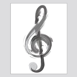 TREBLE CLEF Posters
