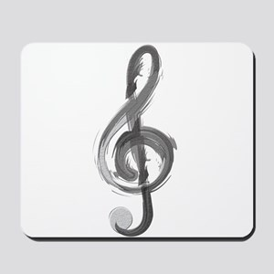 TREBLE CLEF Mousepad