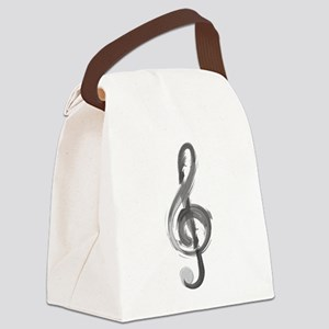 TREBLE CLEF Canvas Lunch Bag