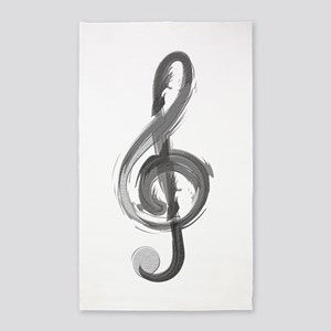 TREBLE CLEF Area Rug