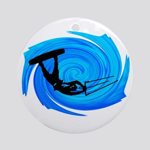 KITEBOARD Round Ornament