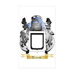 Traviss Sticker (Rectangle 50 pk)
