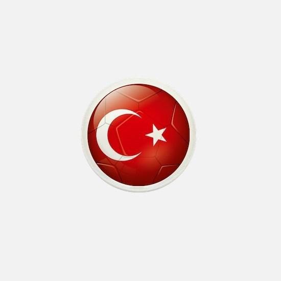 Turkey Soccer Mini Button
