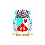 Travaglini Sticker (Rectangle 50 pk)