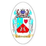 Travaglini Sticker (Oval 50 pk)