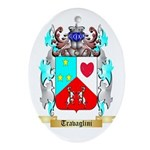 Travaglini Oval Ornament