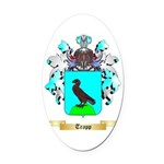 Trapp Oval Car Magnet