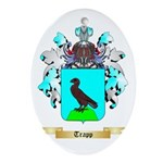 Trapp Oval Ornament