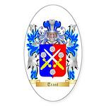 Trant Sticker (Oval 50 pk)