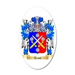 Trant 35x21 Oval Wall Decal