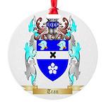 Tran Round Ornament