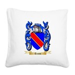 Trams Square Canvas Pillow