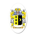 Trammell 20x12 Oval Wall Decal