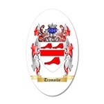Tramailie 20x12 Oval Wall Decal