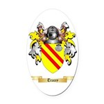 Tracey Oval Car Magnet