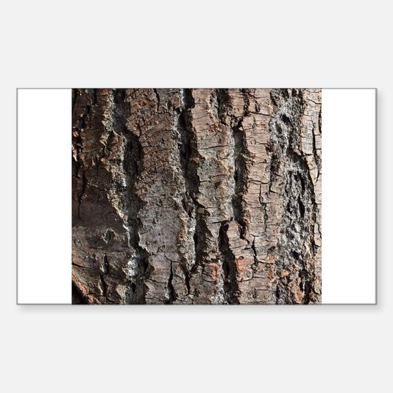 Old bark Decal