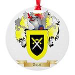 Tozar Round Ornament
