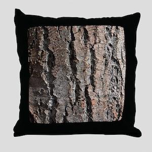 Old bark Throw Pillow