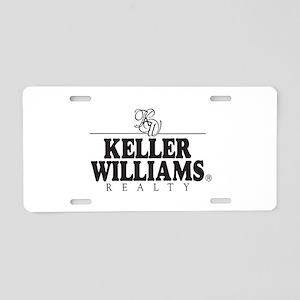 kw_stack_black_bg Aluminum License Plate