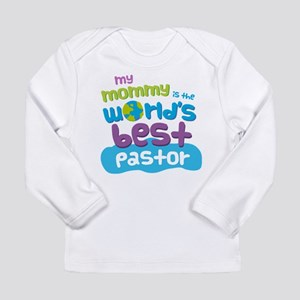 Pastor Gift for Kids Long Sleeve Infant T-Shirt