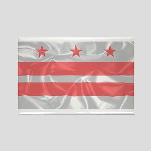 Washington DC State Silk Flag Magnets