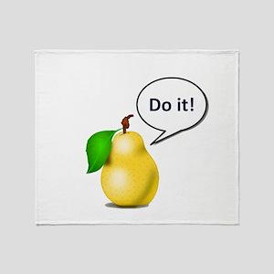 Pear Pressure Throw Blanket