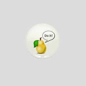 Pear Pressure Mini Button