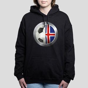 Iceland Soccer Hooded Sweatshirt