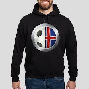Iceland Soccer Hoodie (dark)
