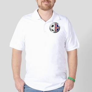 Iceland Soccer Golf Shirt