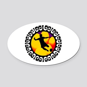 GOAL Oval Car Magnet