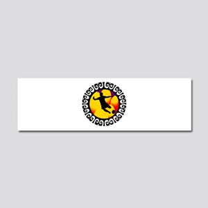 GOAL Car Magnet 10 x 3