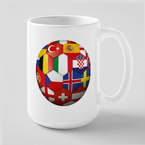 EU Soccer Large Mug
