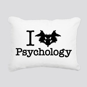 I Heart (Rorschach Inkblot) Psychology Rectangular